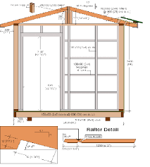 garden shed plans 8x12 home design