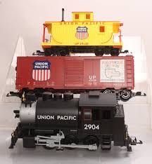 buy piko 38100 g scale union pacific freight set loco