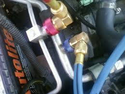 how to evacuate and recharge your r134a a c system honda tech