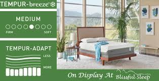 Temper Pedic Beds Tempur Pedic Flex Supreme Breeze 2 0 Blissful Sleep