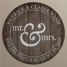 personalized mr and mrs metal sign walmart com