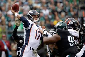 broncos vs eagles live blog recap real time updates from week 9