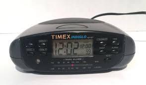clock radio with night light timex alarm clocks retro night light am alarm clock radio model old