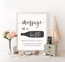 message in a bottle wedding message in a bottle bottle guest book message in bottle