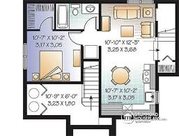 Home Design 7 X 10 Multi Family Plan W2799b Detail From Drummondhouseplans Com