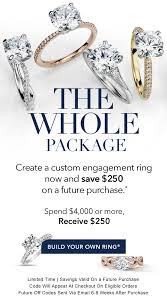 build your own ring blue nile engagement ring now 250 your wedding ring later