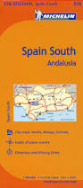 Almeria Spain Map by Michelin Spain Andalucia Map 578 Maps Regional Michelin