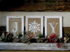 Dollar Tree Christmas Lights Plastic Snowflakes From Dollar Tree Hung From Curtain Rod With
