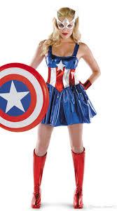masquerade halloween costume captain america halloween cosplay costume dresses shiny cortex