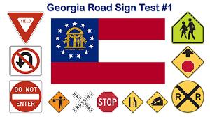 georgia road sign test 1 youtube
