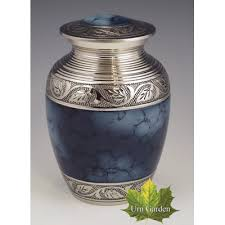 small urn urns for ashes mystic blue small vase
