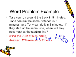 lcm and gcf word problems worksheet worksheets