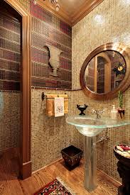 Wood Floor In Powder Room - luxury powder room livinator