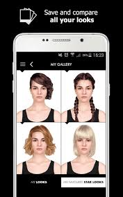 hair styles with ur face in it style my hair hair styles and hair colors try on android apps