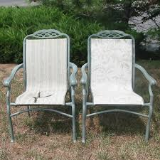 Patio Furniture Fabric Replacement by Outdoor Sling Furniture Replacement Slings Repair Refinish