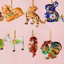 painted cloisonne zodiac ornaments home décor