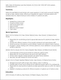 Sample Msw Resume by 20 Sample Msw Resume Professional Medical Social Worker