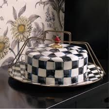 mackenzie childs vase mackenzie childs enamelware courtly check cake carrier