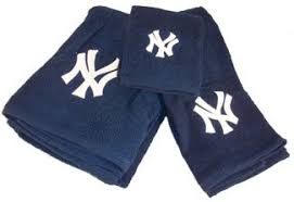 New York Yankees Home Decor by New York Yankees Mlb 3 Piece Bath Towel Set New Gift New York