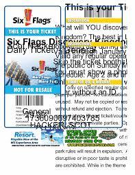 Six Flags Discovery Kingdom Discounts Six Flags Hell Scot Hacker U0027s Foobar Blog