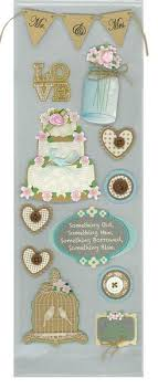 wedding scrapbook stickers rustic wedding mr and mrs 3d scrapbook stickers country croppers