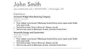 classic resume template efficiencyexperts us