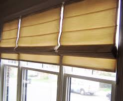 customized roman shade insulated or blackout innuwindow