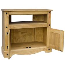 Discount Pine Furniture Corona Corner Tv Unit Cabinet Solid Mexican Pine Furniture Dvd By