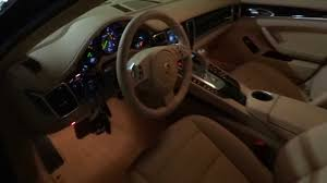 Porsche Panamera Brown - porsche panamera s e hybrid sisustus interior tour youtube