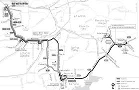 San Diego Transit Map by Route 856 Timetables