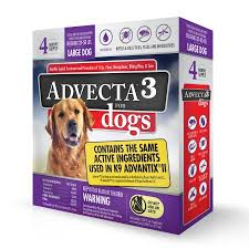 Advecta 3 Flea and Tick Protection for Dogs 22 55 Pounds 4