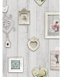 windsor wallcoverings vintage postcards wallpaper a160 shabby chic