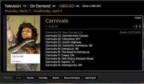 carnivale season 2 carnivale comes to hbogo