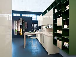 kitchen italian kitchens design from snaidero features navy blue