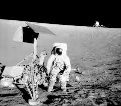 Can You See The Us Flag On The Moon Apollo 12 Wikipedia