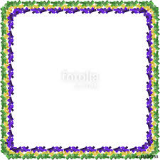 mardi gras picture frame card for mardi gras on an isolated background stock image and