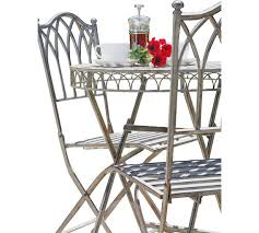 Argos Bistro Table Buy Versailles Bistro Garden Set Steel At Argos Co Uk Your