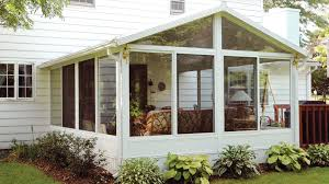 decoration cool sunroom additions with window treatment and