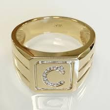 custom initial rings initial rings in diamond gold 925 silver