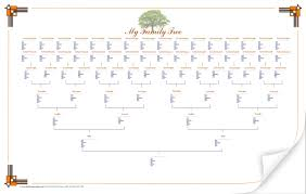 8 best images of family tree chart print out printable blank