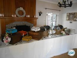 how to set a buffet table with chafing dishes decorating buffet table