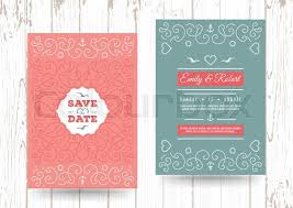 nautical save the date wedding invitation card template nautical save the date cards
