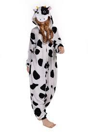 online shop anime pajamas animal black white dot milk cow men