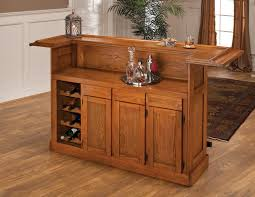 Small Bars For Home by Hillsdale Classic Oak Bar