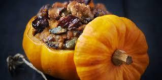cuisine potiron mini potiron farci facile et pas cher recette sur cuisine actuelle