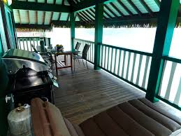 the black pearl the most luxurious private over water bungalow in