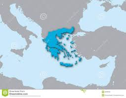 Map Of Greece by 3d Map Of Greece Royalty Free Stock Photo Image 20098975