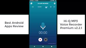 best android voice recorder hi q mp3 voice recorder premium 2 2 1 best android apps review