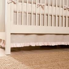 light pink linen crib bedding baby crib bedding carousel