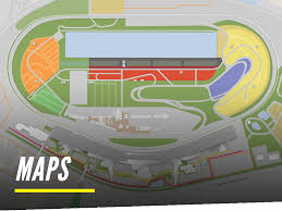 Daytona Florida Map by Geico Camping Daytona International Speedway